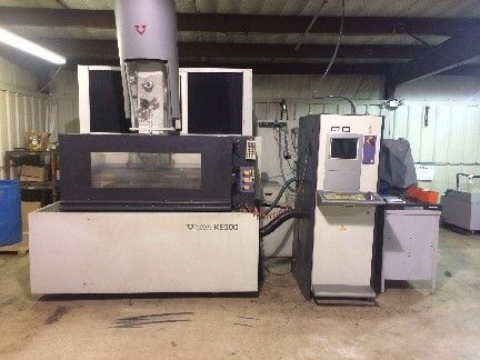 Wire Electrical Discharge Machine ONA KE 500 2003