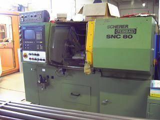 CNC draaibank SCHERER FEINBAU SNC 80 1995