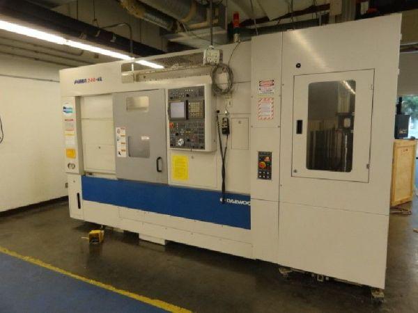 CNC soustruh DAEWOO PUMA 240 GL 2004