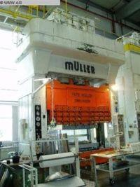 H Frame Hydraulic Press Müller ZE 630-32.3.1