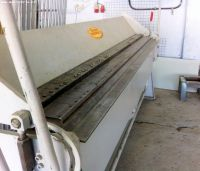 Folding Machines for sheet metal MORGAN RUSHWORTH 2500
