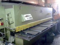 Nożyce gilotynowe hydrauliczne NC EHT TSS 4-250