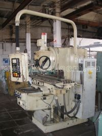 Vertical Milling Machine FRITZ HECKERT FSS 400