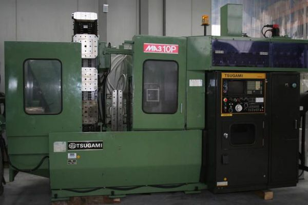 CNC Horizontal Machining Center TSUGAMI MA 3 H 1986