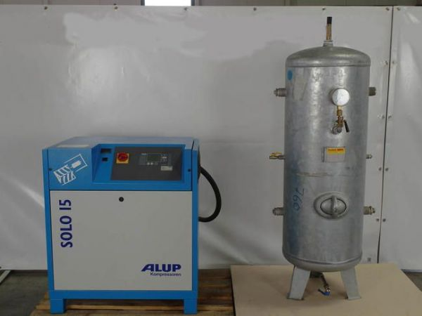 Schraubenkompressor ALUP SOLO 15 2006