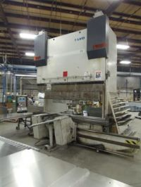 CNC särmäyspuristimen LVD PPEB 170/30