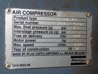 Screw Compressor ATLAS GA 18 1997-Photo 4