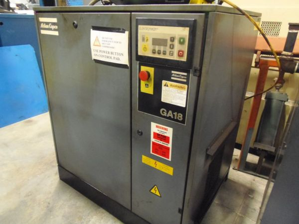 Screw Compressor ATLAS GA 18 1997