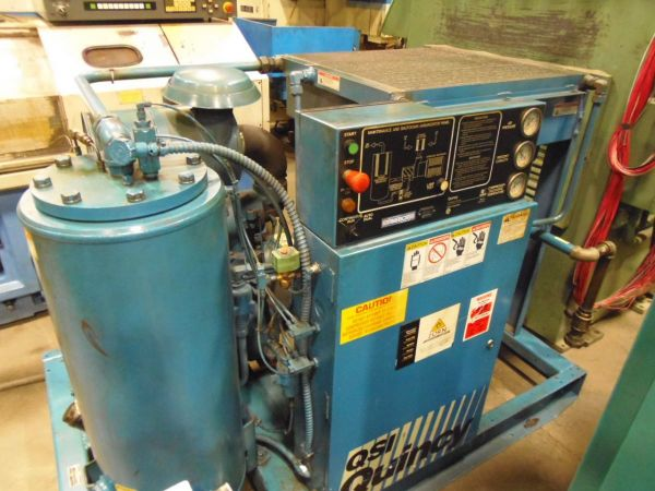 Screw Compressor QUINCY QSI 245 1993