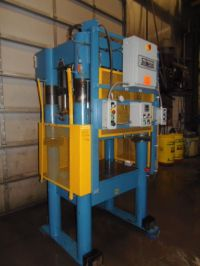 H Frame Hydraulic Press BECKWOOD 30304 1999-Photo 5