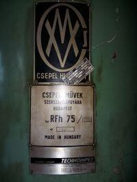 Furadeira radial CSEPEL RFH 75/2000 1984-Foto 2
