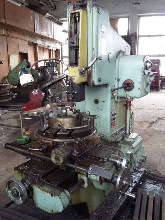 Vertical Slotting Machine STANKOIMPORT 7 А 420 1986