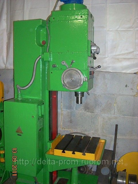 Box Column Drilling Machine STANKOIMPORT 2 Н 135 1977