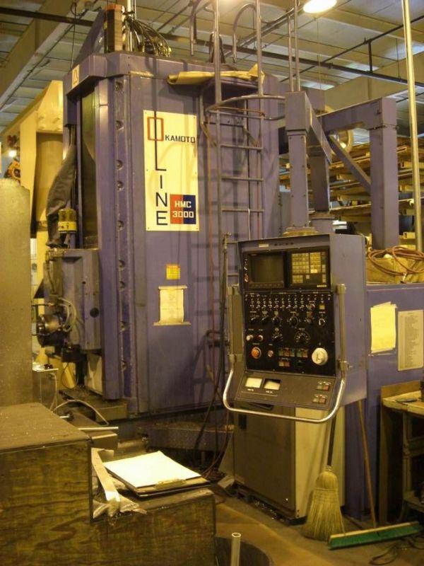 CNC Horizontal Machining Center OKAMOTO 3000 1987