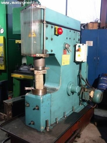 Single Frame Forging Hammer HEBO LM 60 1990