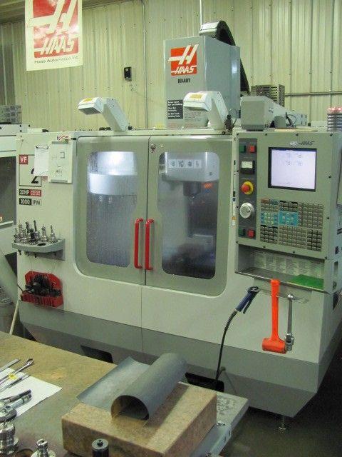 CNC Vertical Machining Center HAAS VF 2 D