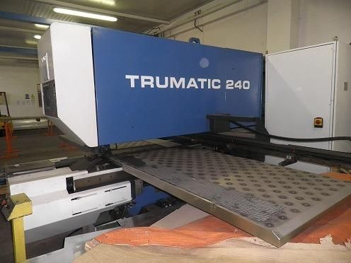 Punching Machine TRUMPF TRUMATIC 240 1987