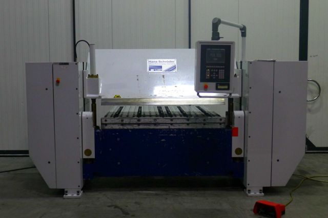 Hydraulic Press Brake SCHROEDER MAK 4 Folding machine 1998