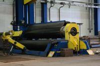 4-Walzen-Blecheinrollmaschine HAEUSLER VRM - HY 3000 x 60