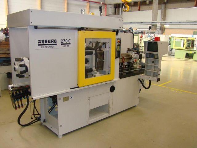 Máquina de moldeo por inyección de plásticos ARBURG 270 C - 400 - 90 1995