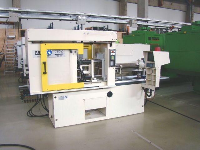 Máquina de moldagem por injeção de plásticos ARBURG 270 C - 400 - 90 1996