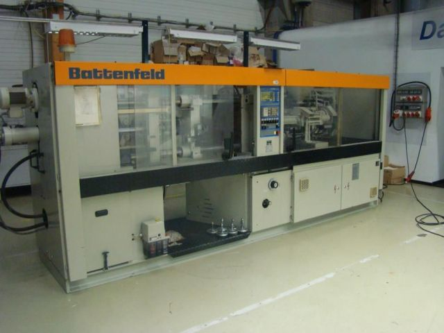 Kunststoffspritzgießmaschine BATTENFELD BK 1300 / 315 1987