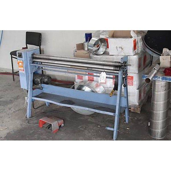 3 Roll Plate Bending Machine PAH 40.20 1985