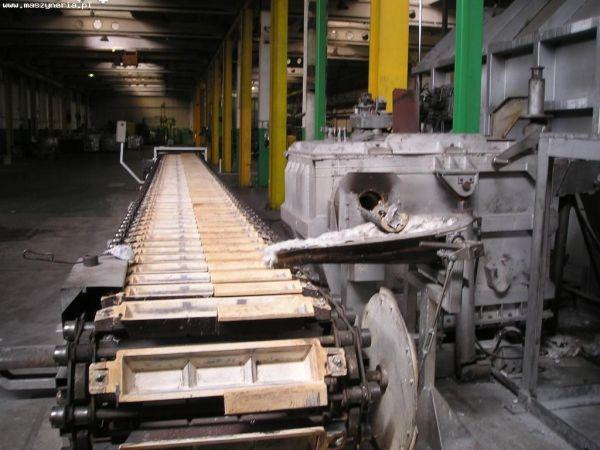 Piec do przetopu Piec do aluminium 2009