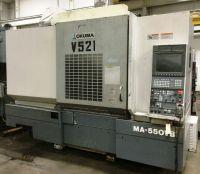 Centro de mecanizado vertical CNC OKUMA MA-550 VB