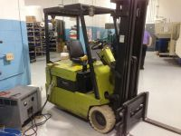Front Forklift CLARK TM-15 1990-Photo 3