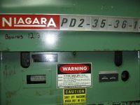 H Frame Hydraulic Press NIAGARA PD2-35-36-15 1981-Photo 4