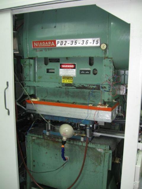 H Frame Hydraulic Press NIAGARA PD2-35-36-15 1981