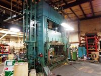 H Frame Hydraulic Press VERSON 600 HD 1968-Photo 2