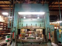 H Frame Hydraulic Press VERSON 600 HD 1968-Photo 3