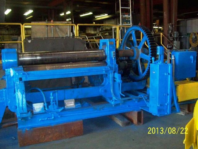3 Roll Plate Bending Machine BERTSCH MODEL 9 1988