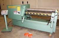 4 Roll Plate Bending Machine MONTGOMERY 4R-4825