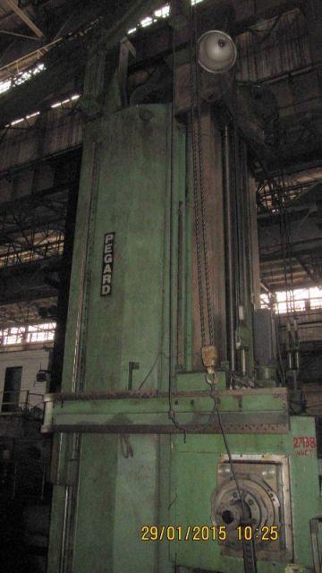 Горизонтальный расточный станок PEGARD Euromill 225/2400 1989