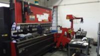 Prensa plegadora hidráulica CNC AMADA FBDIII-8025