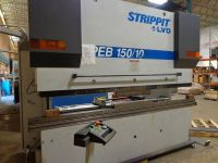 CNC Hydraulic Press Brake STRIPPIT LVD 150 HB 10