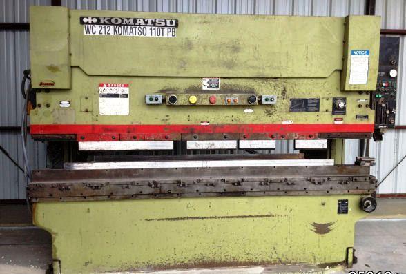Hydraulic Press Brake KOMATSU PHS 110 X 310 1992
