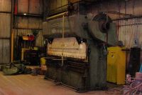 Hydraulic Press Brake WISCONSIN JX-12 1970-Photo 2