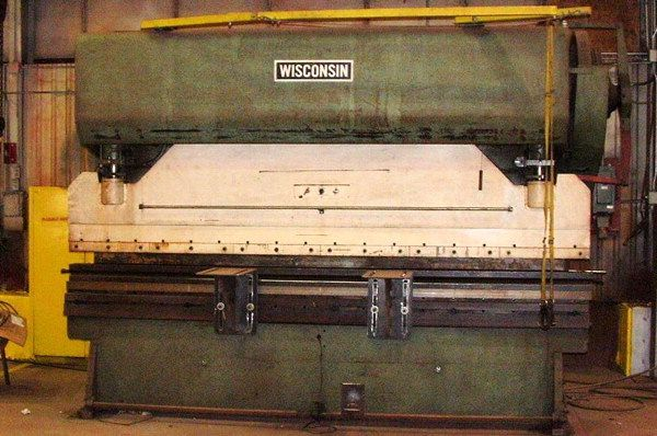 Hydraulic Press Brake WISCONSIN JX-12 1970