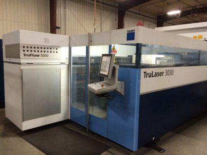 Máquina de corte por láser 2D TRUMPF TRULASER 5000 2012