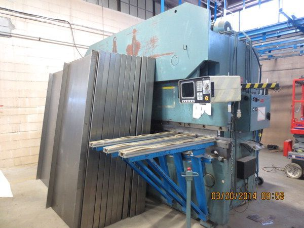 CNC Hydraulic Press Brake ALLSTEEL 135-12 2000
