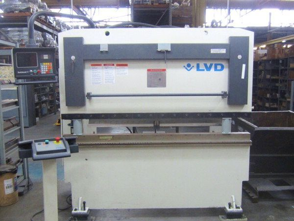 CNC Hydraulic Press Brake LVD PPBL-H 40/20 1999